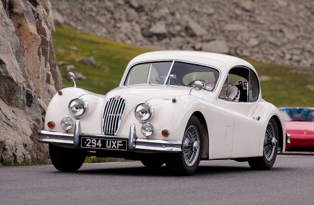 Jaguar XK140 FHC - Copyright by Steve Harris