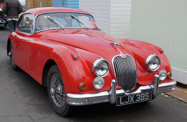 Jaguar XK150 FHC (Copyright by Chris Sampson)
