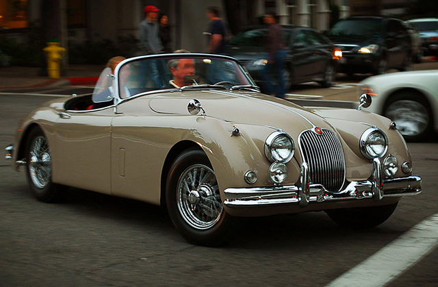 Jaguar XK150 OTS (Copyright by Otis Blank)
